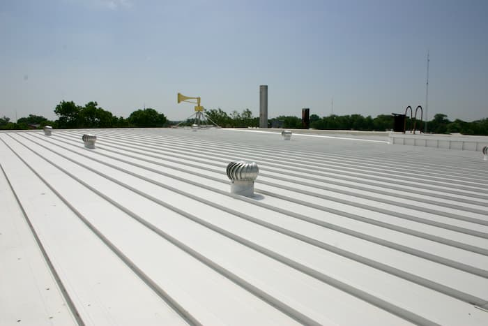 Commercial Metal Roofing (Metal Roof Restoration)